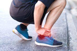 Swelling in runner